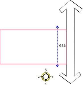 Gambar Alternatif Orientasi Tapak 1