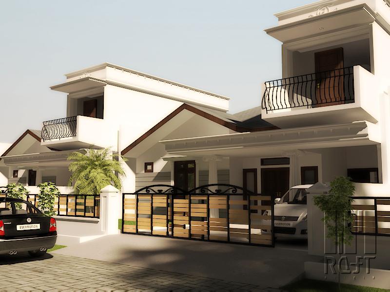 Rumah Bapak Gusbakti Arsitek Medan Raft Origin