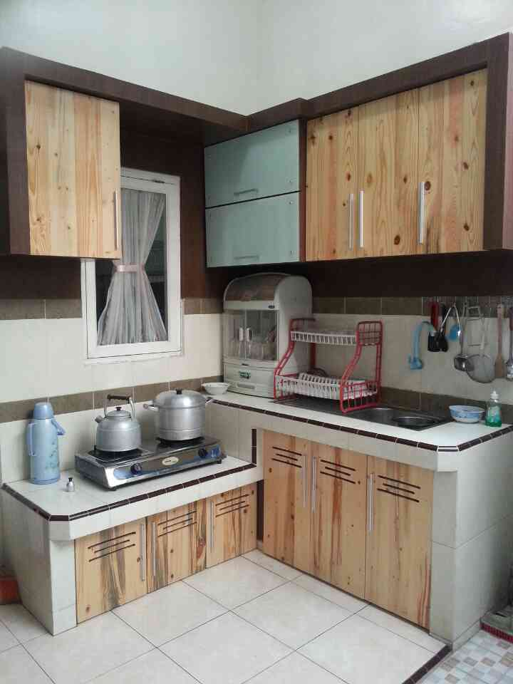 Kitchen Set Kayu Jati Arsitek Medan Raft Origin