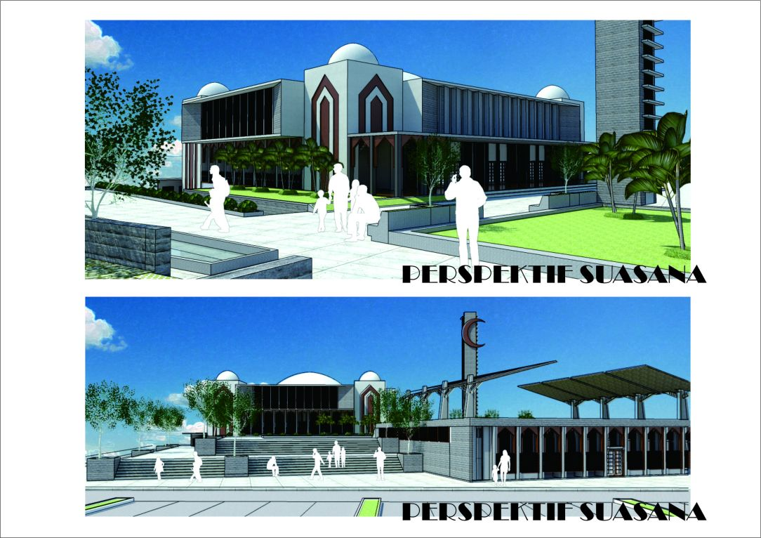 Sayembara Masjid Tebing Tinggi 1