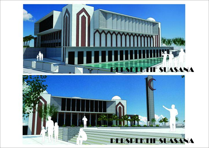 Sayembara Masjid Tebing Tinggi 2